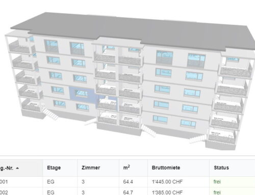 Siedlung Auenring in 3D