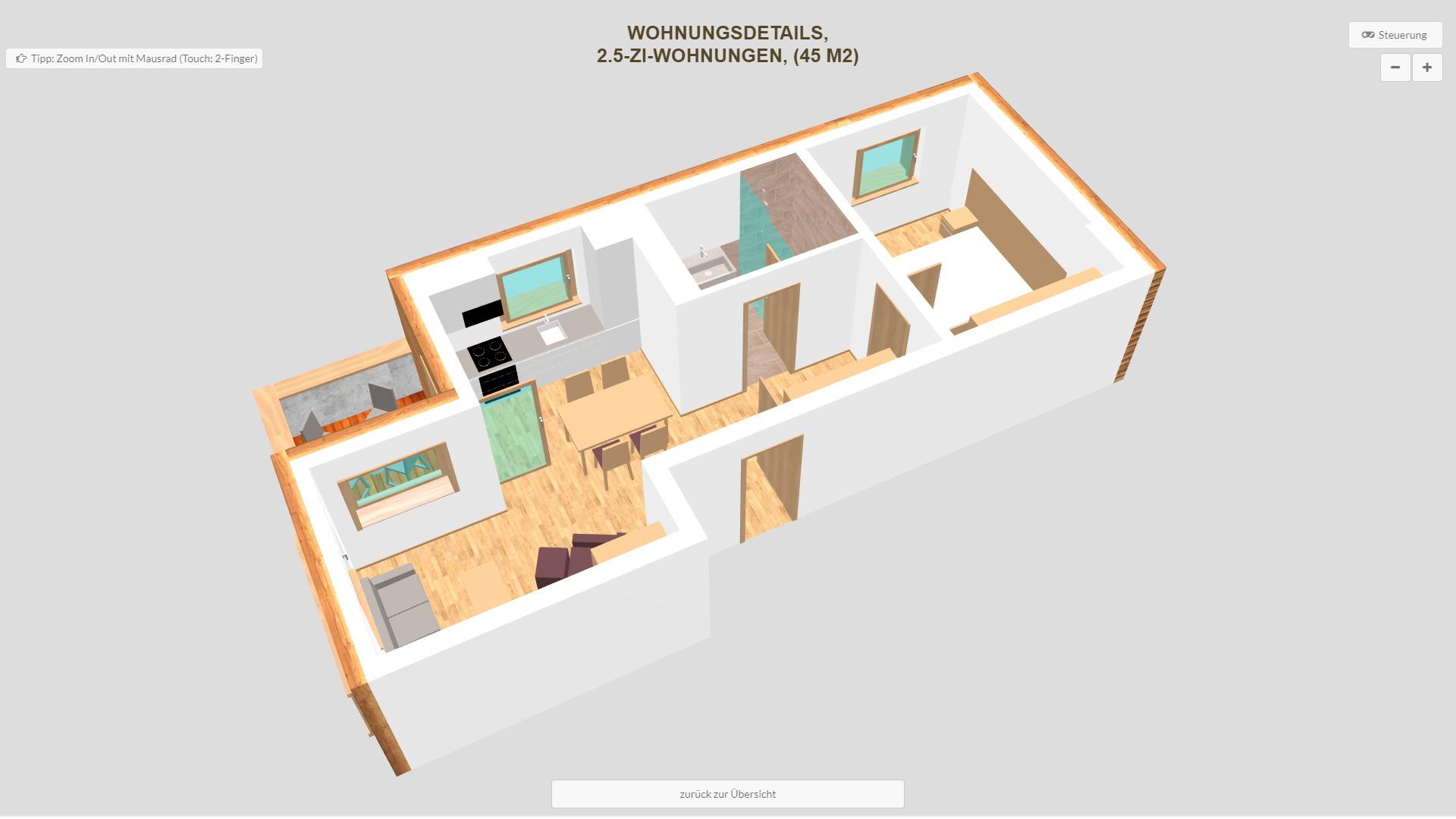 Pradas Resort Graubuenden 2.5 Zimmer Wohnung