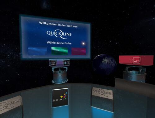 VR-Erlebnis am Localnet-Stand