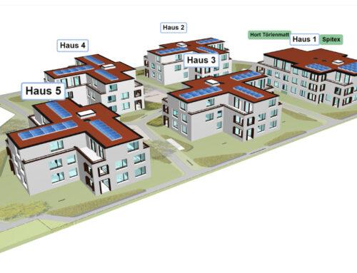 Siedlung Törlenmatt in 3D