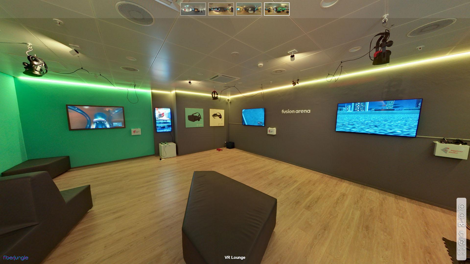 Fusion Arena Letzipark Zuerich Altstetten VR Brillen