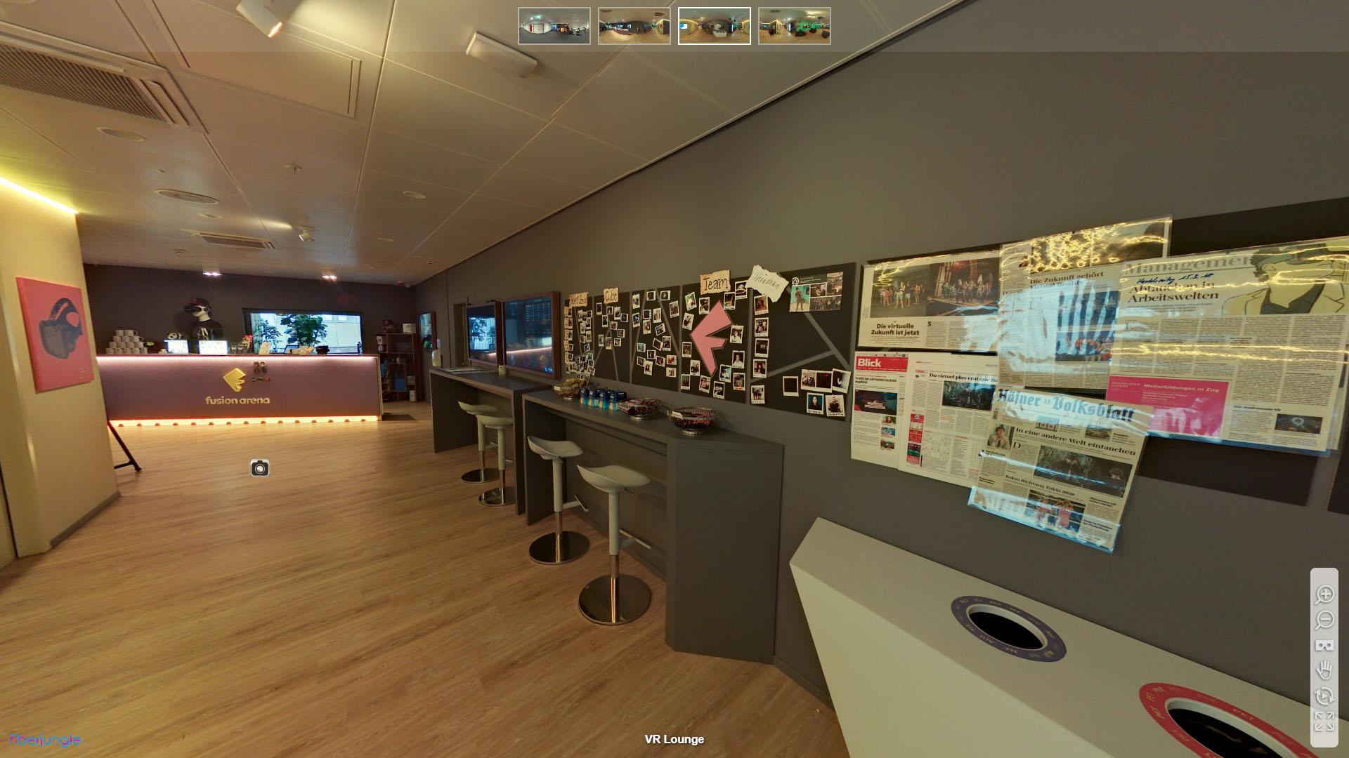 Fusion Arena Letzipark Zuerich Altstetten VR Lounge