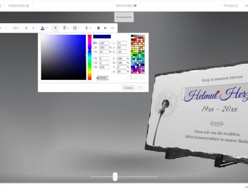 Memento Shop 3D-Online-Designer