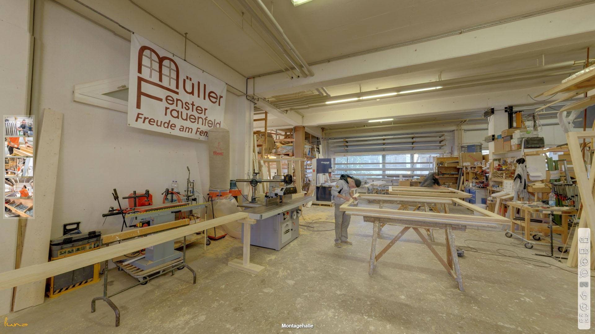 Mueller Fenster AG Thurgau Montagehalle