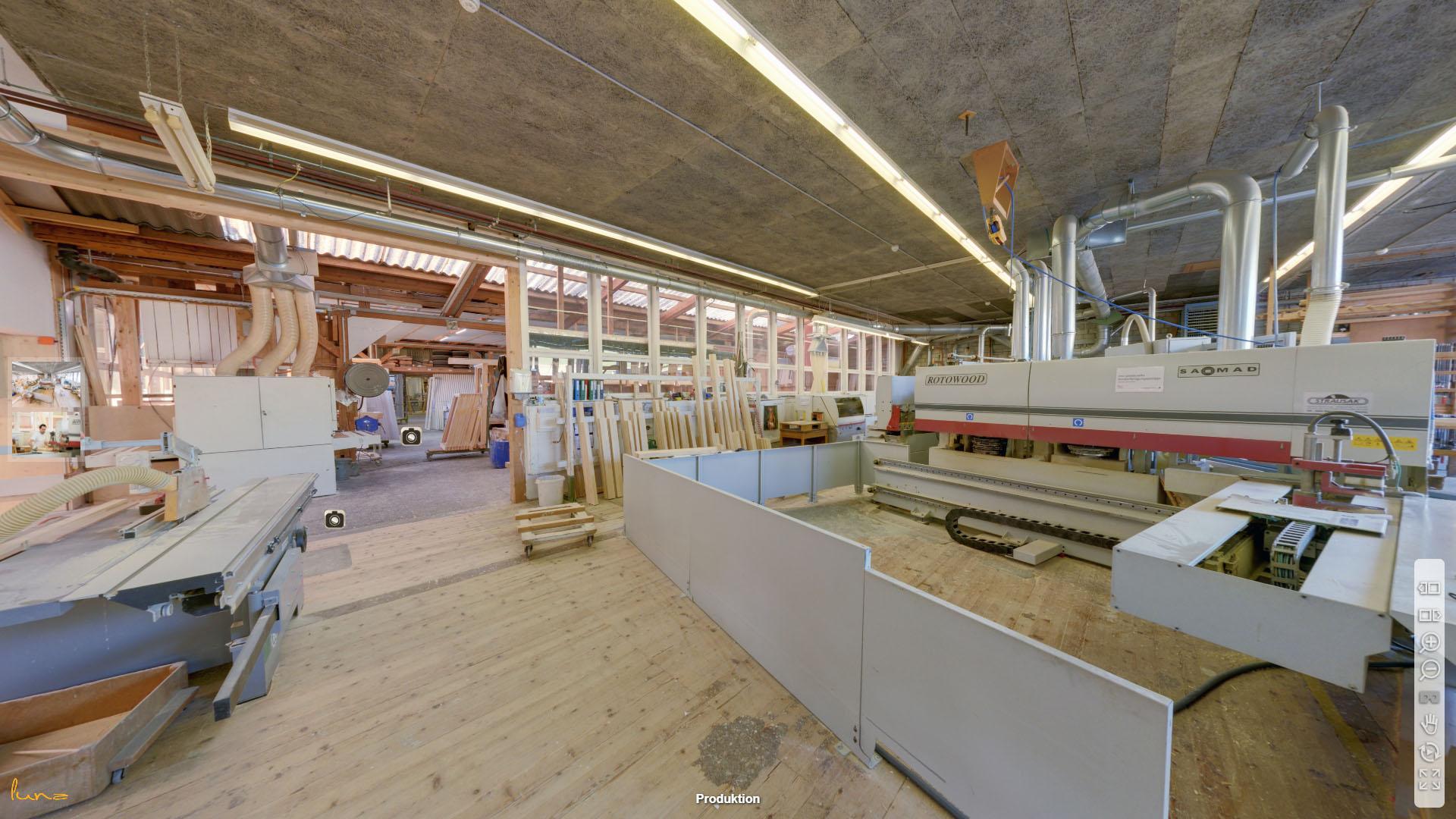 Mueller Fenster AG Thurgau Produktionshalle