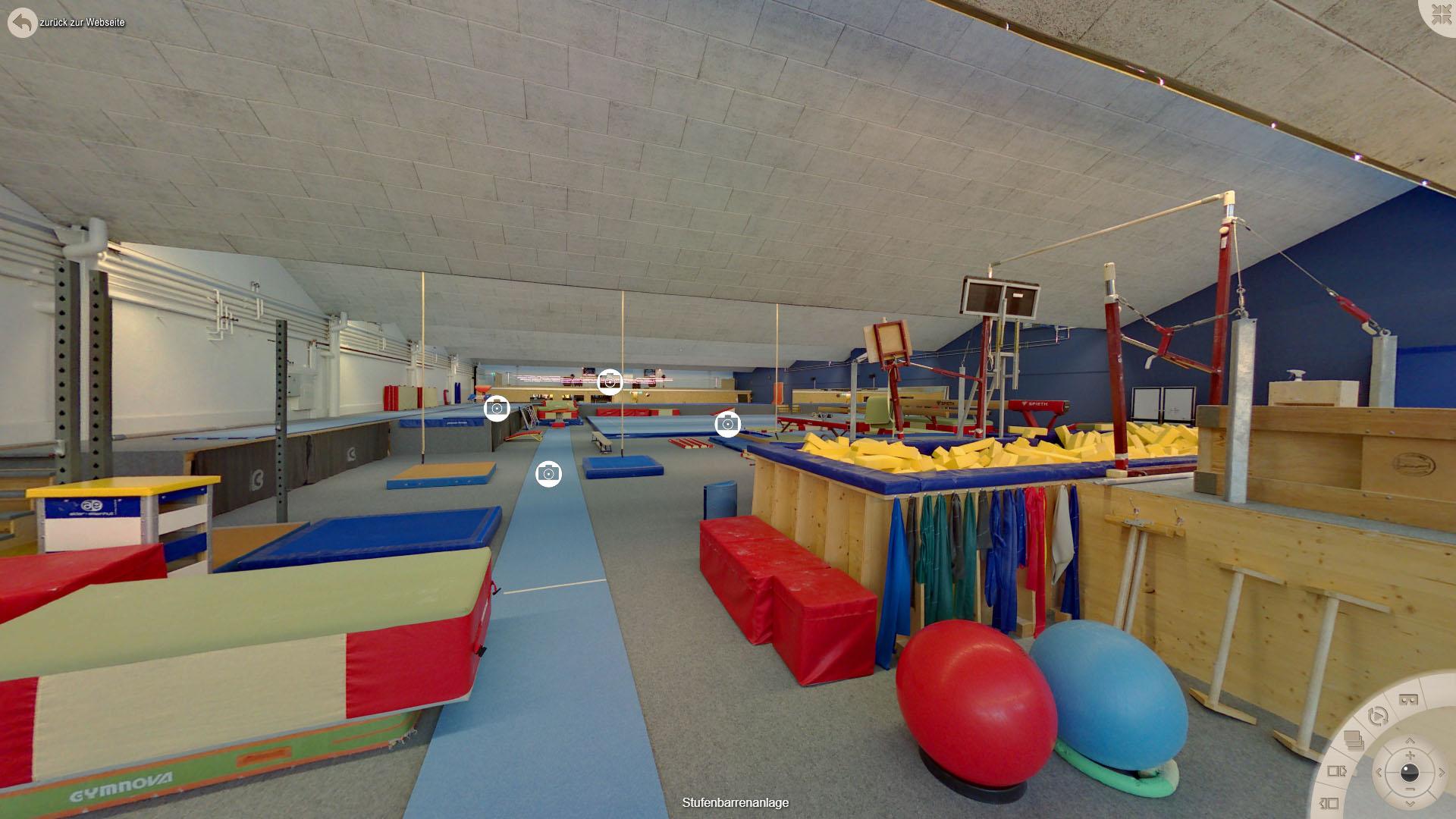 NFF Gymnastics Zuerich Stufenbarrenanlage