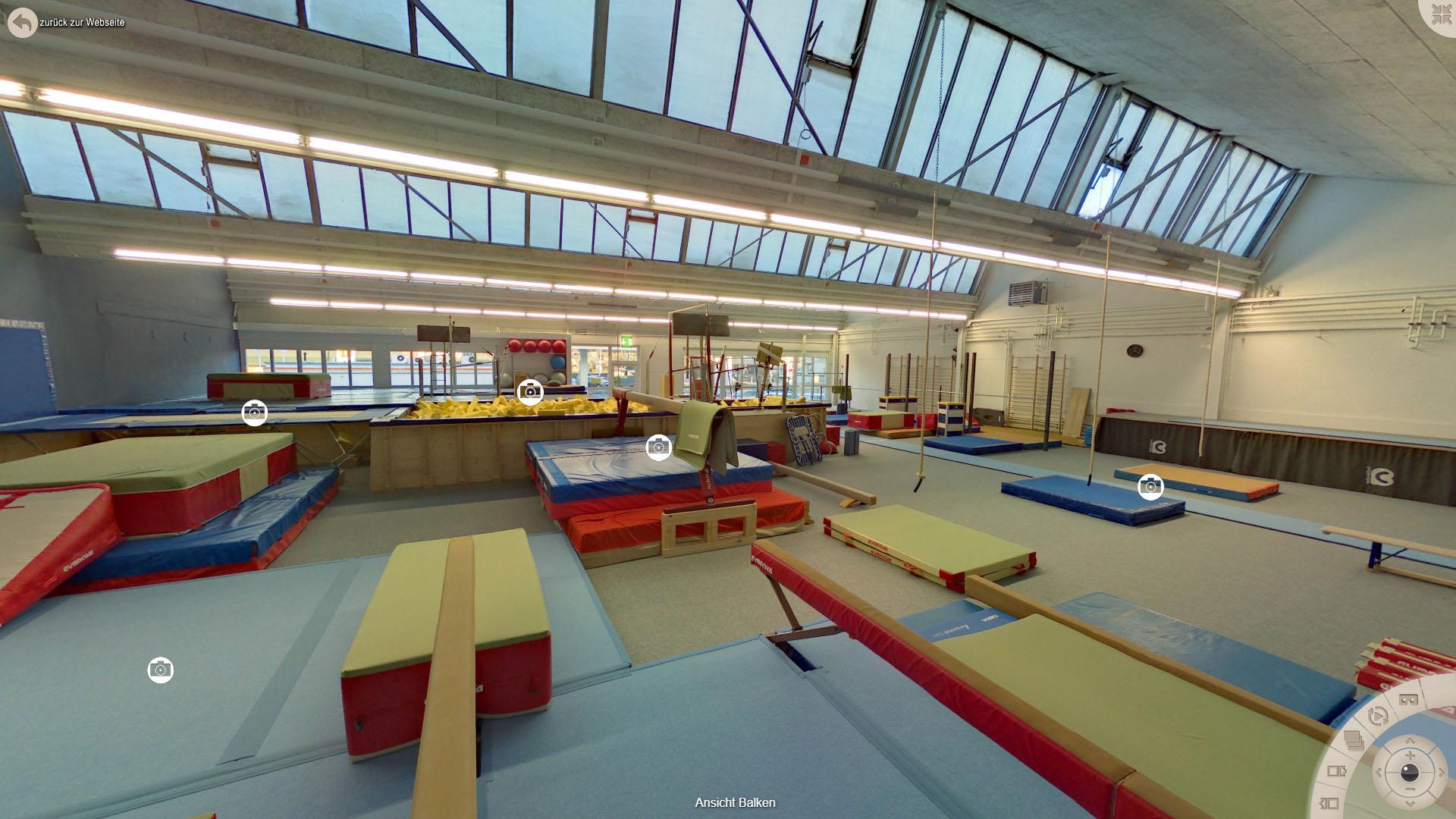 NFF Gymnastics Zuerich Ansicht Balken