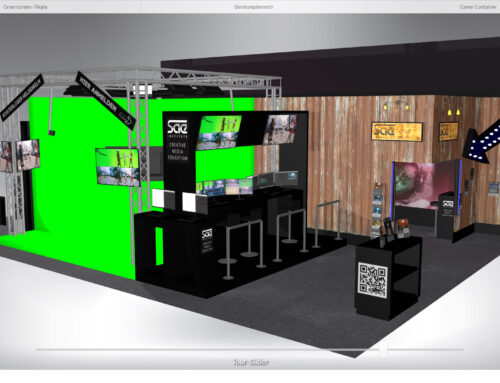 Messestand Konfigurator in 3D