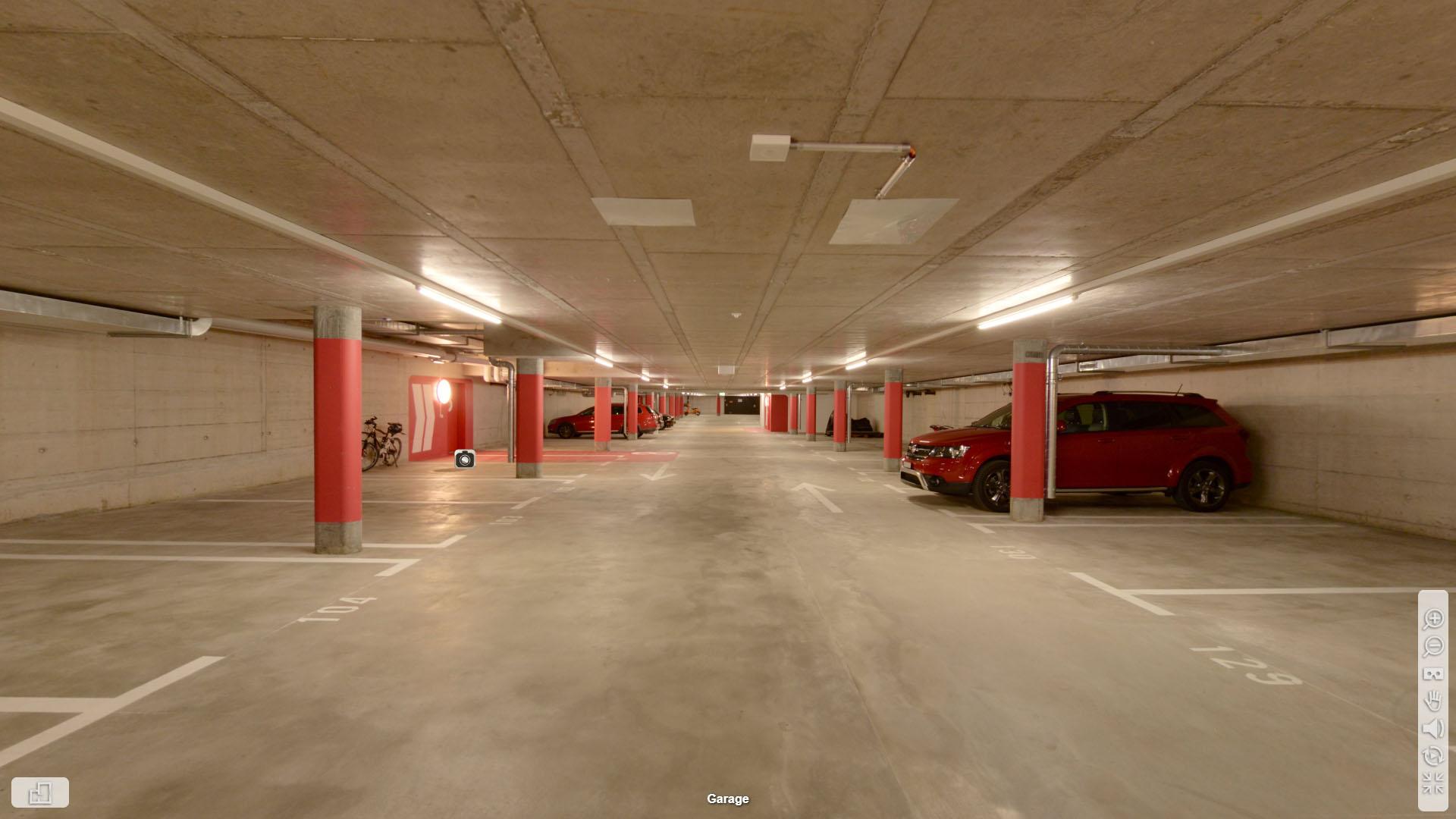 SILU Toerlenmatt Zuerich Grundrissplan Garage