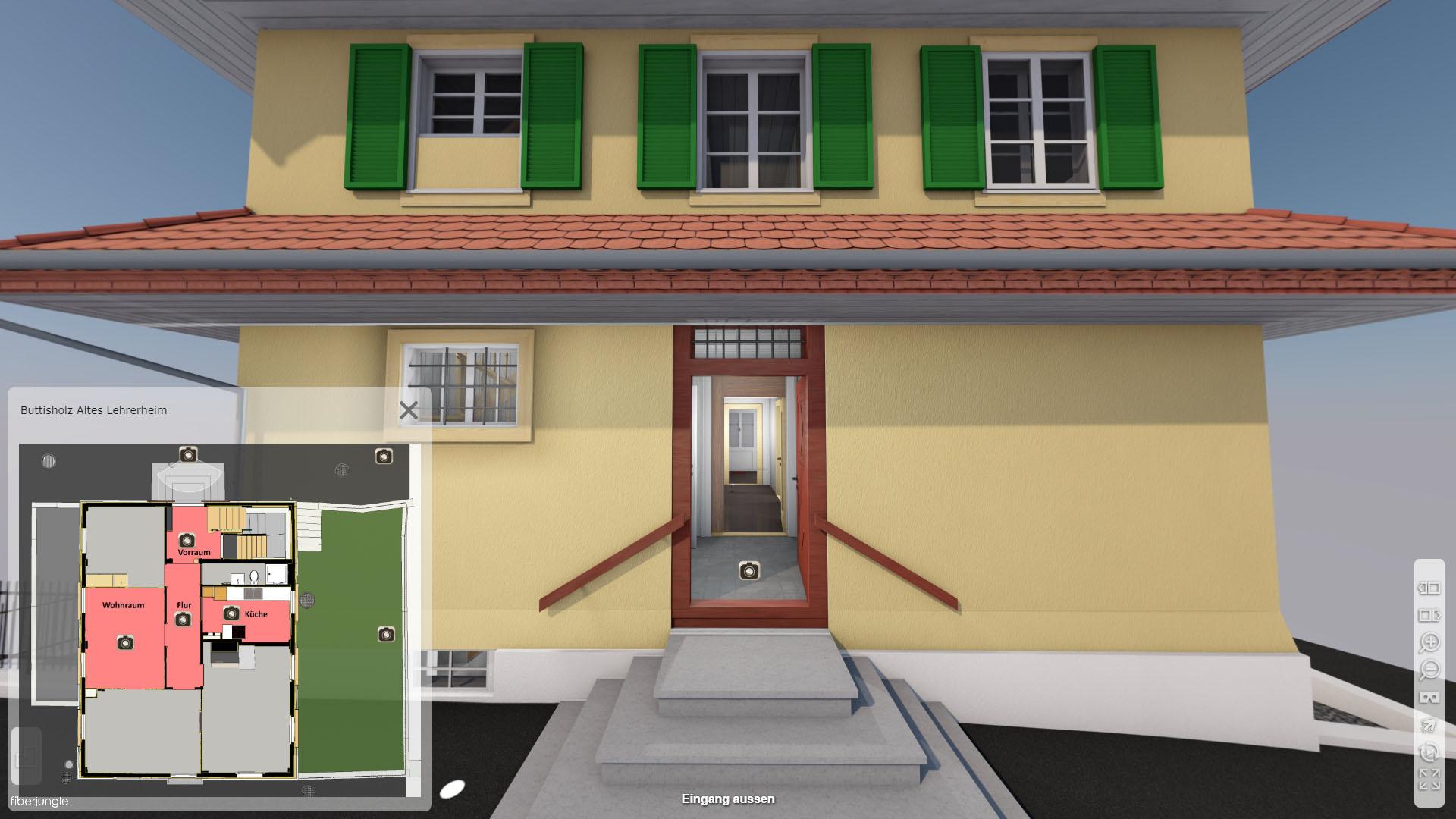 Altes Lehrerheim Buttisholz Luzern Eingang aussen