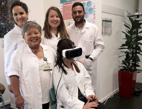 VR-Erlebnis im Bereich Medizin