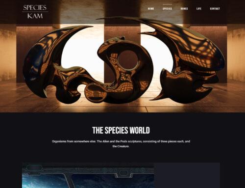 Kunst Webseite