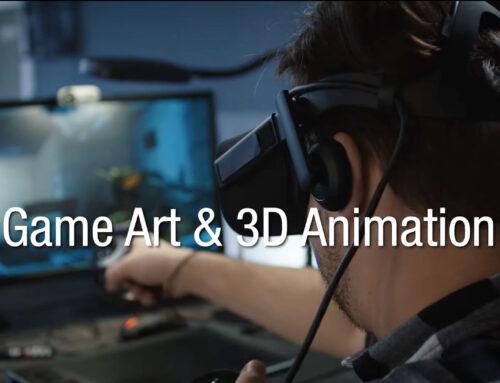 Fachvideo Game Art & 3D Animation